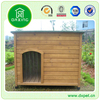 wooden galvanized double building dog kennel