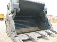 PC1250 front rock buckets,excavator concrete buckets for sale