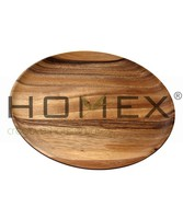 Lazy Susan In Acacia Wood /Serving Tray /Kitchen Appliance/Homex_BSCI