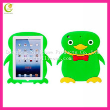 Newest colorful silicone rubber penguin waterproof case for ipad mini 2013