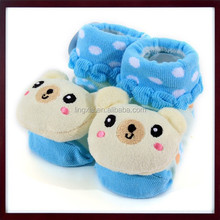 Anti-Skid Style Baby Cartoon Animal style infant socks, Custom Design 3D shoes baby floor toddle socks