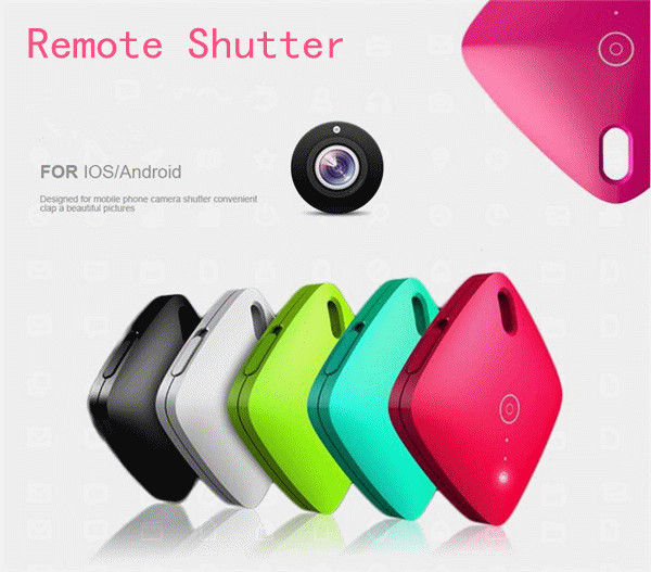 Multi Colorful Universal Mini Wireless Selfie Remote Controller Bluetooth Remote Shutter For iphone/Samsung Smartphone
