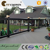 Cheap outdoor wpc laminate flooring with CE SGS test report