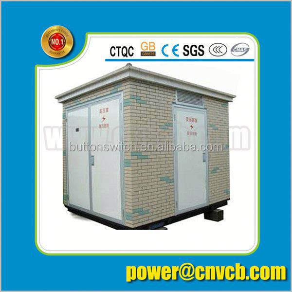Best manufacturer power transformer substation 24kv power network gis substation