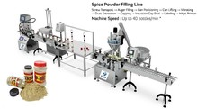 Automatic cans of filling powder machine