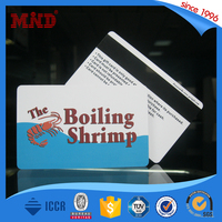 MDP537 High quality RFID 13.56Mhz Smart Chip Card With Magnetic Stripe