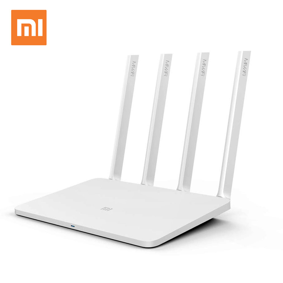 Original Xiaomi WI-FI Router 3 English version Dual Band Application Management 1167 Mbps Wi-Fi Repeater 2.4 <strong>g</strong> / 5 GHz 128 MB Wi