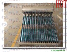 Sloping type solar water heater