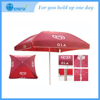 2014 fashion Top quality Square Promotional beach umbrella