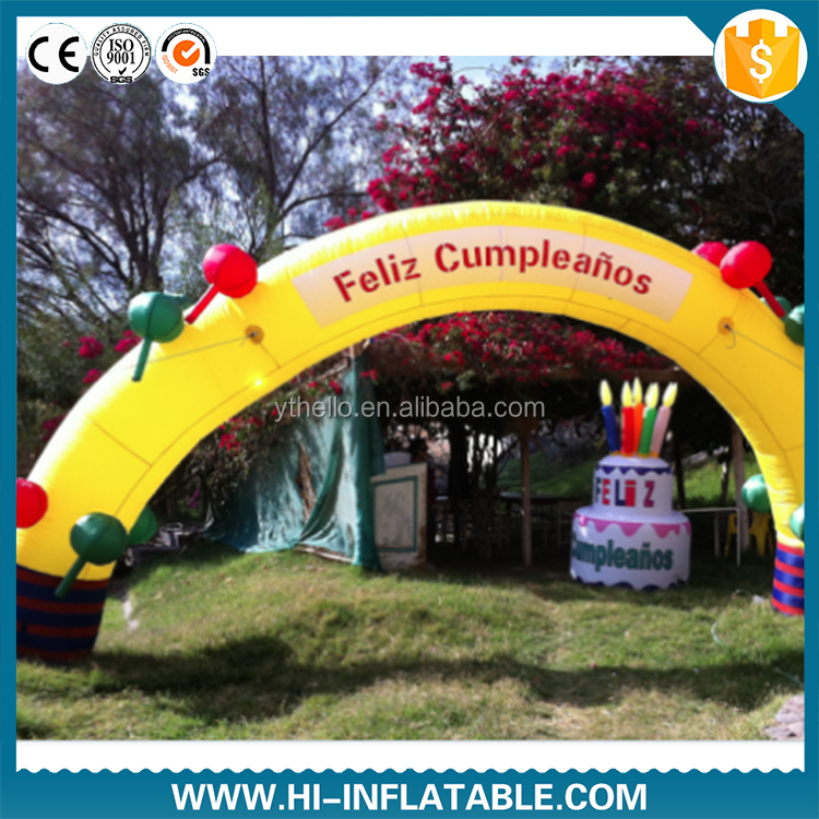 christmas inflatable arch wedding decoration christmas inflatable arch