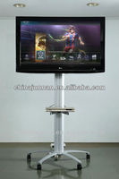 Mobile TV stand for home or furniture
