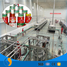 Tin can manufacturing plants tomato ketchup making processing machine
