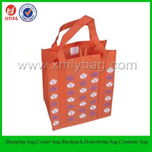 Fancy 100gsm Non Woven Shopping Wine Bag