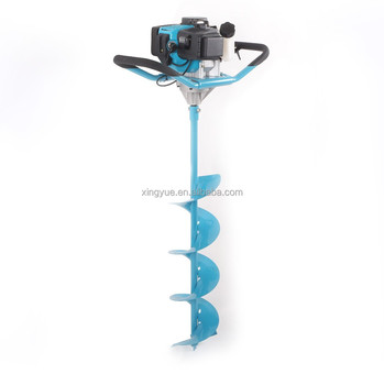 71CC 2-stroke hand operated gasoline earth auger