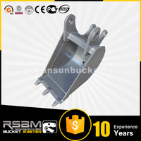 Varied Design S355(Q345/GR350) Material RS CASE580 mini excavator bucket for skid steer loader or excavator