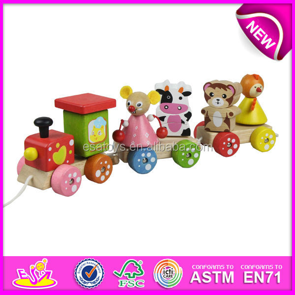 2017 new wooden toy train,popular wooden train toy,hot sale wooden toy train W04A082