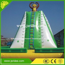 inflatable rock climbing wall, inflatable water rock climbing wall, inflatable floating climbing