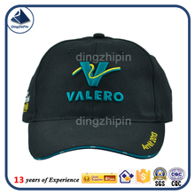 Thailand 3d embroidery foldable polo curved brim promotion hat