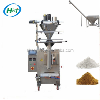 VFFS 500g Non-woven Bag carbon powder filling packing machine