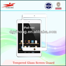 2013 new products tempered glass screen guard for ipad mini