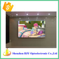 High definition indoor advertising 3mm pixel led big screen panel