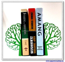 APPLE TREE home decoration metal bookends Decorative metal bookstand