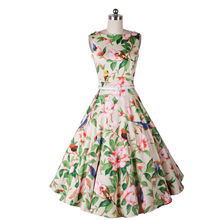 B10576A Pinup Swing Evening Party Wedding Prom rockabilly 50s vintage dress