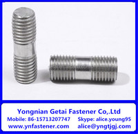 Fine Thread Class 8.8 Metric Double End Stud Bolts Zinc Plated