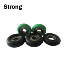 low noise high quality plastic Cable laying guide pulley/roller/wheel