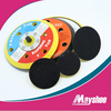 Plastic backing sanding pads with velcro