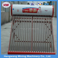 Direct calorifier Integrated thermalsiphon low pressure evacuated tube solar water heater /solar water heater price