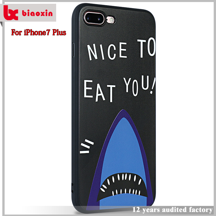 Popular style phone case for iphone 7,for iphone 7 case brand,for iphone 7 case logo