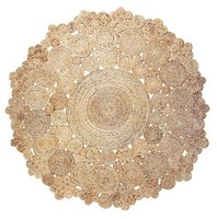Hemp Braided Round Rug