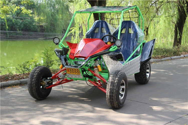 High Quality 150CC 4 stroke Dry Cluth Gas off road Go Kart /Buggy Single Seat With CE