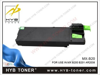 MXB20GT1, MXB20NT1 toner cartridge compatible for MX-B200, MX-B201