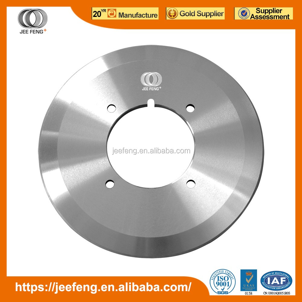 carbide circular blade knife used for corrugated carton box making machine