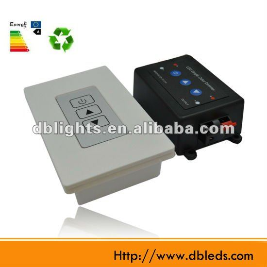 White color touch panel,touch single color dimmer Controller