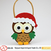 2016 new fashion hot sell cheap wholesale handmade kids Christmas gift felt tote owl
