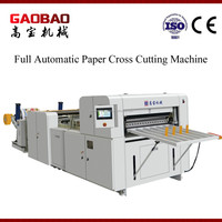 Full Automatic Plastic Film Sheet Cutting Machine