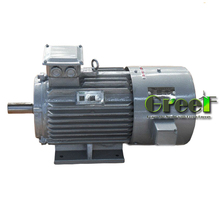 12KW 3 phase ac low speed/rpm synchronous permanent magnet generator,wind/water/hydro power