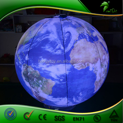 Colorful LED Inflatable Lighting Earth, Good Earth Lighting Bulbs
