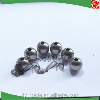 customize stainless steel , carbon steel, chrome steel ball with hole