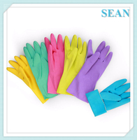 High quality long sleeve rubber gloves made in China