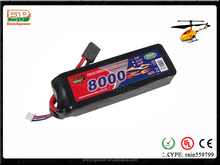 Enrichpower Lipo Battery Pack 8000mAh 30C 18.5V 5S Soft Case With Deans T Plug For RC Car Boat Drone Truck Roar Approved