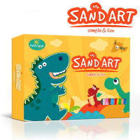 Dinosaur sand art pictures gift box