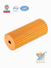 New Product / extruded aluminum tube/aluminum extrusions 6063 t5 with oem service