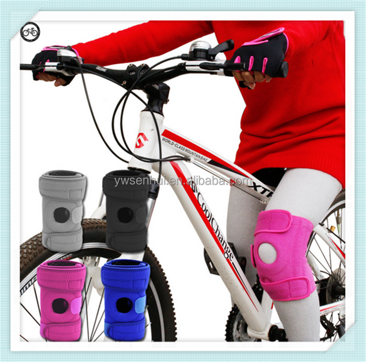 Four-hole play-slip breathable men and women riding bicycles knee pad