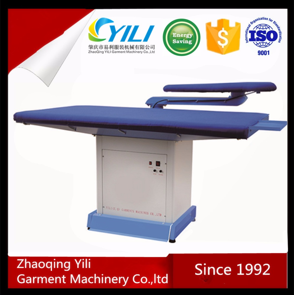 single arm buck flatwork ironer machines board industrial laundry commercial