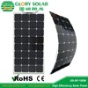 High Quality OEM 50W 100W 120W 140W 150W Semi Flexible Sunpower Solar Panel for boat yacht