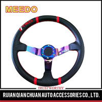 Universal vehicle drifting paint color plastic steering wheel
